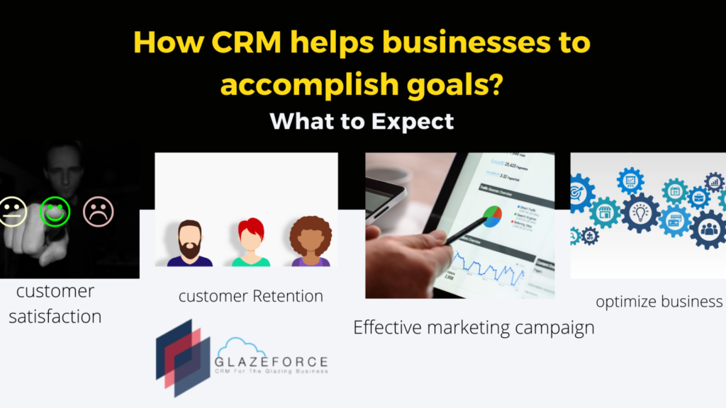 How CRM helps glazing business?