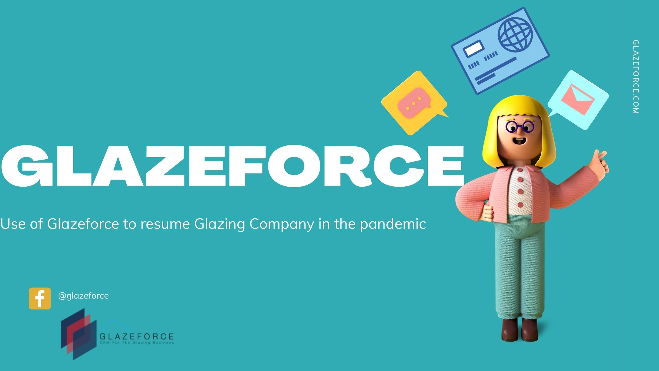 Use Glazeforce to resume glazing company in the pandemic